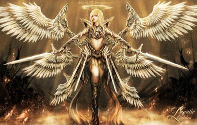 Angel of Mayhem by shizen1102