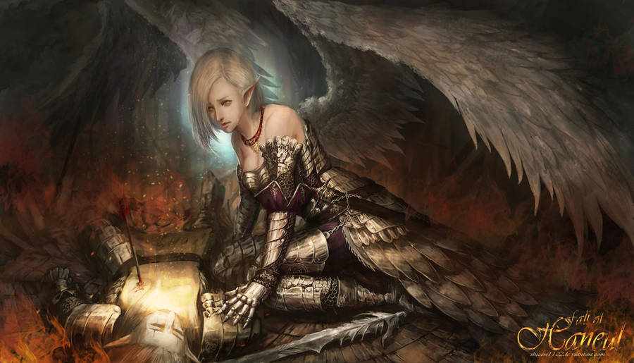 Fallen Heaven - Pain by shizen1102