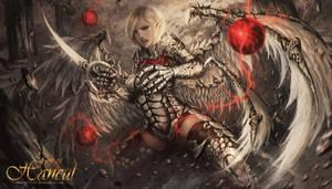 White Spirit of Vengeance by shizen1102