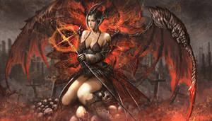Aster - Lady of Hell by shizen1102