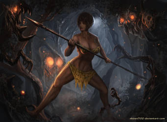 CM: Forest Hunting by shizen1102