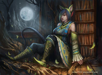 CM: Moonlight Library by shizen1102