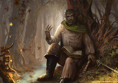 CM: The Wolfman by shizen1102