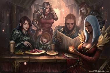 CM: Tavern Gathering by shizen1102