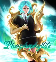 Phos - Houseki No Kuni (speed paint!!) by ellielza