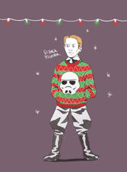 First Order Winter Holiday party Armitage Hux by Soyouz-Aldrin