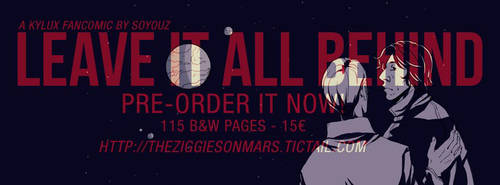 (PRE ORDER) Leave it all behind by Soyouz-Aldrin