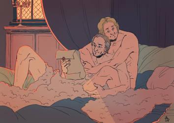 Jorah and Jaime for ProfDrLachfinger! by Soyouz-Aldrin
