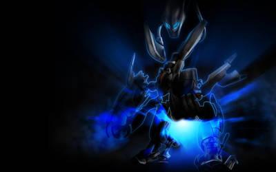 Alien Cyborg by kirtpro