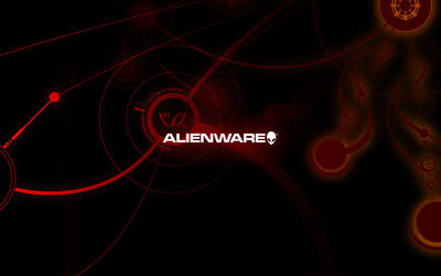 Alien Red Glyphs by kirtpro