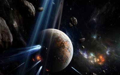 Space Wallpaper by kirtpro