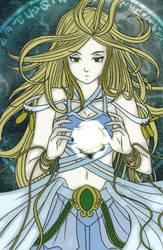 Goddess by zu-san