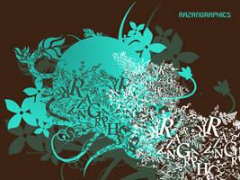 razangraphics Typography by razangraphics