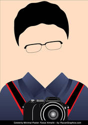 Celebrity Minimal Poster: Faisal Almalki by razangraphics