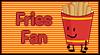 Fries Fan Stamp by PinkiesClone