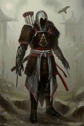 Assassins Creed Feudal Japan by TomEdwardsConcepts