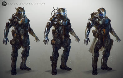 Soldier Concepts by TomEdwardsConcepts
