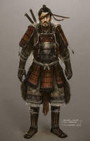 Another Samurai Concept by TomEdwardsConcepts