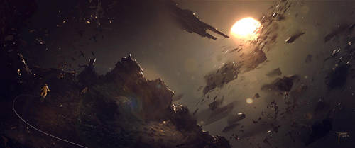 Asteroid Mining by TomEdwardsConcepts