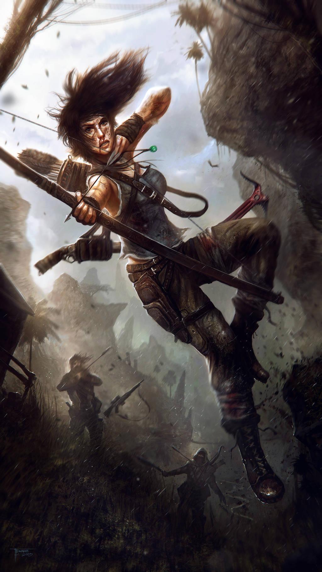 Tom Raider Reborn by TomEdwardsConcepts