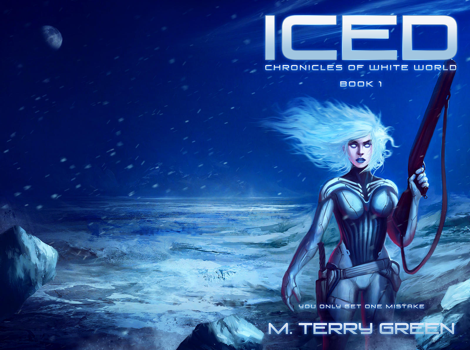Iced Cover  - Chronicles of White World by TomEdwardsConcepts