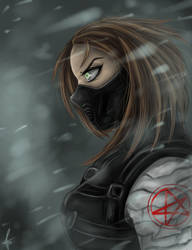 Winter Soldier by CharlotteLaNoire