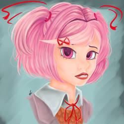 Natsuki by CharlotteLaNoire
