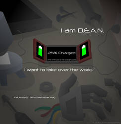 D.E.A.N. is Charging by AnimatedJames