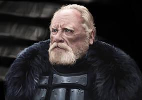 Jeor Mormont study by Andy-Butnariu