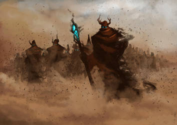 Sand People _ Spitpaint by Andy-Butnariu