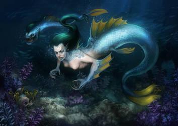 Mermaid by Andy-Butnariu