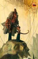 Hellboy by Batawp