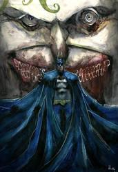 Batman/Joker by Batawp
