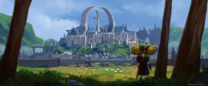 fantasy castle by sulliart