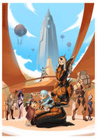 WARFRAME - Life on Cetus by ChickenDrawsDogs