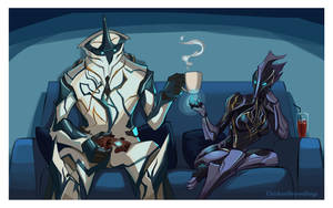 WARFRAME - A Game of Ice and Fire by ChickenDrawsDogs