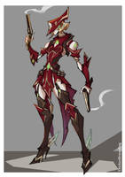 WARFRAME - How to prime Mesa by ChickenDrawsDogs