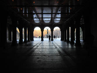 Bethesda Terrace by velvetvalentine9