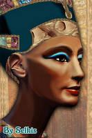 Queen Nefertiti by SelkisFritz