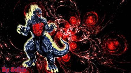 Godzilla by SelkisFritz