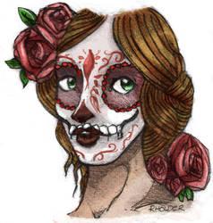 Sugar Skull by Fayea