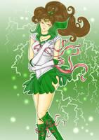 Sailor Jupiter calling Thunder by Valesco