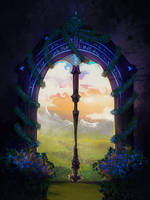 The door to the dreams by Sabretooth2611