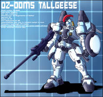 OZ-00MS Tallgeese Profile by zeiram0034