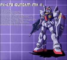 RX-178 Gundam MK II Profile by zeiram0034