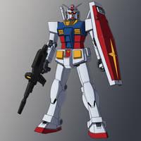 RX-78-2 Gundam profile WIP by zeiram0034