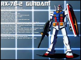 RX-78-2 Gundam profile by zeiram0034