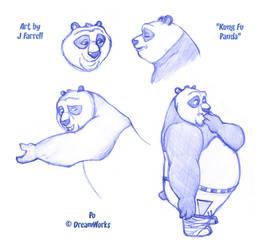 Kung Fu Panda - Po 1 by darkmane