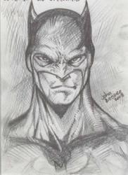 SKETCH: batman 01 by johnbecaro