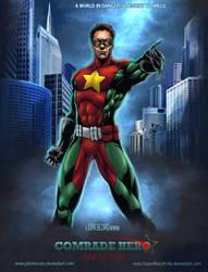 Commission: Comrade Hero 2 by johnbecaro